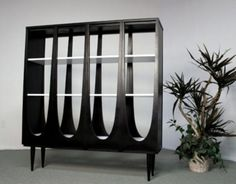 25 Original Mid-Century Modern Bookcases