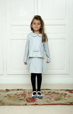 Girl's top and skirt