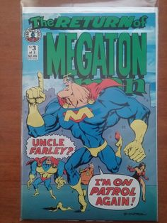 The Return of Megaton Man #3 (Sep 1988, Kitchen Sink Press)