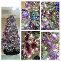 Purple Christmas Tree for all you Purple People :)  only at lights.com