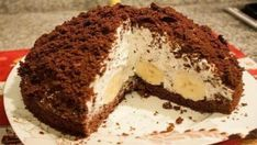 """Cake """"Mink Mole"""" - According to my mother's prescription! For banana lovers, very tasty, easy to prepare. Ingredients: dough: cups of flour Homemade Pastries, Different Cakes, Top 5, Cake Ingredients, Cake Cookies, Food To Make, Food And Drink, Easy Meals, Cooking Recipes"""