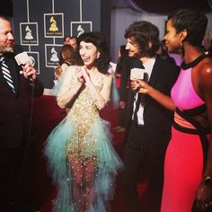 Gotye and Kimbra #GRAMMYs