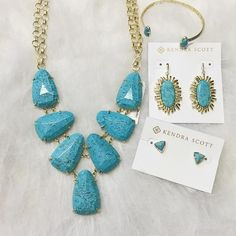 Snatch these pretties up before they are gone!! Once they are gone we aren't able to reorder from Summer collection!☀️☀️#kendrascott #accessorize #loveturquoise #theperfectaccessory #shopjuneandbeyond #juneandbeyondboutique