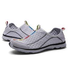 Grau Herren Malha Wasser Schuhe