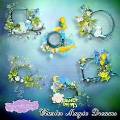 Magic Dreams Cluster (PU/S4H) by Bee