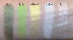 I324, S336, ME406, M500, I514
