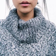 And you said sweater turtlenecks would never come back into style...give it time, everything comes back