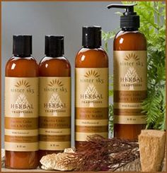 Sister Sky Sweet Grass Natural hair products