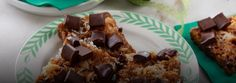 Chocolate Chunk, Caramel and Coconut Bars