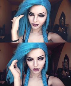 THIS IS NOW ON MY BUCKET LIST TO MAKE MY HAIR LOOK LIKE JINKS XDD BEST JINX EVER