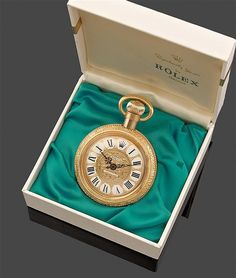 Rolex flacon de parfum ~Perpetually Yours~perfume bottle as a pocket watch Watch Display, Beautiful Perfume, Vintage Rolex, Gold Watch, Rolex Watches, Perfume Bottles, Pendant Watch, Pocket Watches, Clocks
