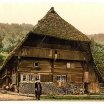 A Peasant's house, Black Forest, Baden, Germany Photo Print Black Forest House, Black Forest Germany, Black House, The Beautiful Country, Beautiful Places, Linderhof, Pictures Of Germany, Baden Germany, Bavaria Germany