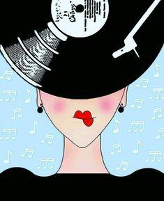 Vinyl Music, Vinyl Art, Vinyl Records, Pop Art, Record Players, Music Artwork, Music Images, Arte Pop, Music Covers