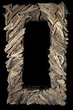drift wood frame
