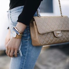 15758c1e0a3d Obsessing over these vintage denims and Chanel via Trendlee