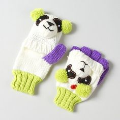 Panda Convertible Gloves | Claire's