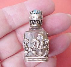 Beautiful Little Vintage Perfume Bottle with by TheJewelMystique, $40.00