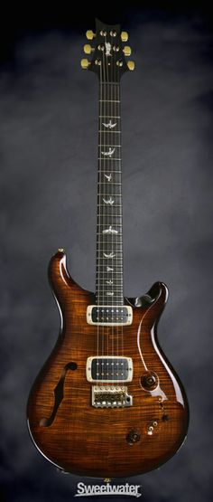 PRS Experience PRS 2013 408 Semi-hollowbody - Black Gold Burst | Sweetwater