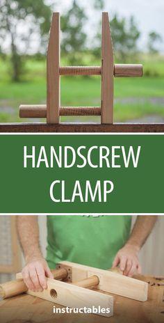 Handscrew Clamp  #woodworking #tools #workshop #woodworkingtools