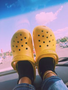 got crocs and i'm in love