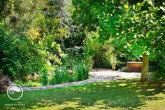 #landcape #architecture #garden #path #bench #water #feature #bio #pond