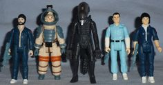 Funko and Super7 released Alien ReAction Figures.  Made from vintage Kenner prototypes.  Dallas, Kane, the Alien, Ash, and Ripley.