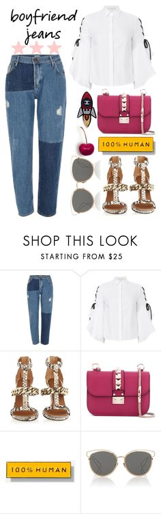 """""""Untitled #325"""" by poorvashikalra ❤ liked on Polyvore featuring River Island, Jonathan Simkhai, Givenchy, Valentino, Everlane, Christian Dior and Chanel"""