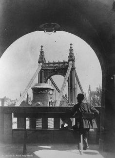 Budapest, Jena, Historical Pictures, Tower Bridge, Brooklyn Bridge, Big Ben, The Past, Retro, Architecture