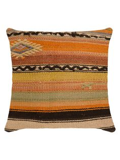 Multi-Square Kilim Cushion