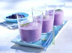 Blaubeer-Bananen-Smoothie - Rezept