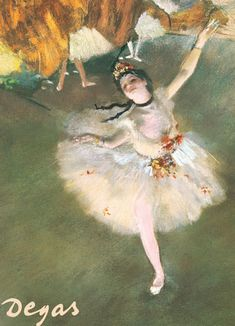 Ballerina by Edgar Degas, Jigsaw Puzzle, 1000 pieces. Degas is recognized…