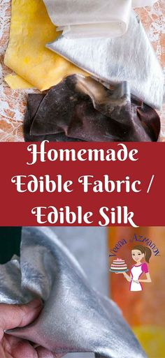 The latest trend in cake decorating has been these edible fabric sheets also called edible silk. Surprisingly this homemade edible fabric recipe is easier than you can imagine. It takes no more than 10 minutes to make one sheet of homemade edible silk.