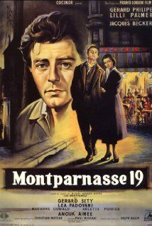 Les amants de Montparnasse (Montparnasse 19) Poster