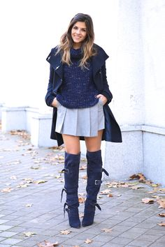 www.streetstylecity.blogspot.com Be inspired by the people in the street ! Trendy Taste     Girl in Boots