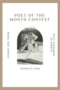Since we're still all stuck indoors, it's the perfect time to announce our next POM contest! Head over to our Instagram @pspoets to find this post and follow the direction. Click the pin to read the previous winners' poems. #poetrycontest #poetry #creativewriting
