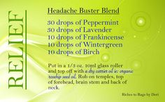 The Headache Buster Blend is Back!