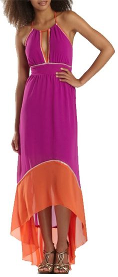 Love this maxi dress... it's just cut a little too low for me.