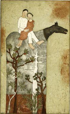 Piia Lehti – metsansylissa / Symbolic & surrealiste Fine art