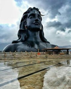 Shiva, The Adiyogi, India. Lord Shiva Pics, Lord Shiva Statue, Lord Shiva Hd Images, Lord Shiva Family, Rudra Shiva, Mahakal Shiva, Shiva Art, Ganesha Art, Lord Ganesha