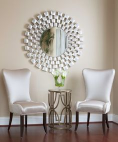 Glamorous sitting area by Lawson's Decorating Den.