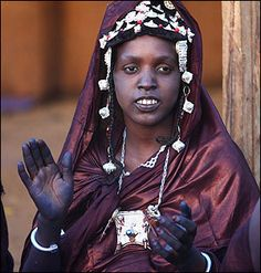 Africa | A newly married Tuareg woman in Djenne, central Mali | ©Diary by a Photographic Nomad