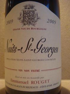 2009 Emmanuel Rouget Nuits St. Georges