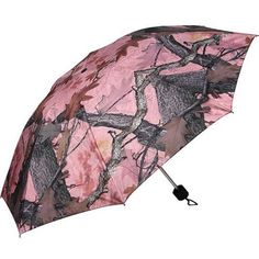 This deluxe, heavy duty, windproof umbrella is made to stand up to the rigors of Mother Nature and look as great as it works. Compact folding model comes with matching storage pouch. Fishing Umbrella, Rain Umbrella, Umbrella Holder, Compact Umbrella, Pink Camouflage, Camo Outfits, Umbrellas Parasols, Archery, Country Girls