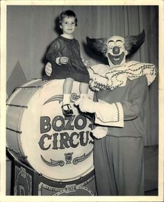 Bozo the Clown. I grew up in Chicago, Ill. so if you wanted to go this show there was a seven year wait for tickets good old WGN