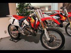▶ 1996 HONDA CR250M No1 Jeremy McGrath - YouTube