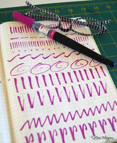 Practice, practice, practice is the key to improving your calligraphy and handwriting skills.