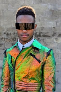 Ooh can I nab your jacket, kind sir?. Futuristic, cyber, fantastic, future fashion by jean paul paula