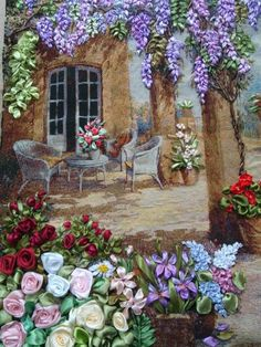 Wonderful Ribbon Embroidery Flowers by Hand Ideas. Enchanting Ribbon Embroidery Flowers by Hand Ideas. Embroidery Designs, Ribbon Embroidery Tutorial, Silk Ribbon Embroidery, Embroidery Thread, Ribbon Art, Ribbon Crafts, Foto Fantasy, Thread Painting, Needlework