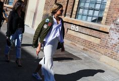 Phil Oh's Best Street Style Pics From Mercedes-Benz Fashion Week Australia