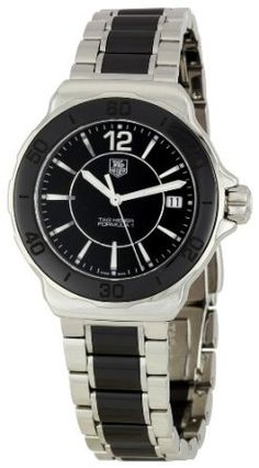 SALE!! TAG Heuer Women's WAH1210BA0859 Formula One Black Dial Watch REVIEW